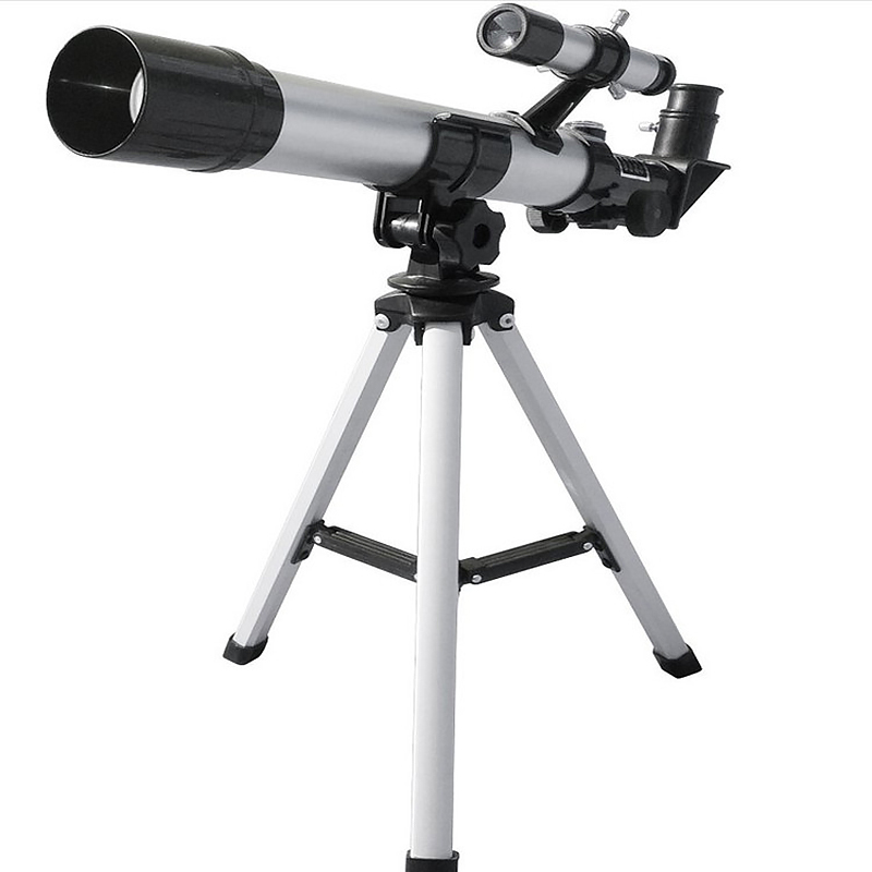 HD 32X Refractive Astronomical Telescope with Finderscope F40040 Monocular Refractor Telescope for Student Children Beginner Use in Monocular Binoculars from Sports Entertainment