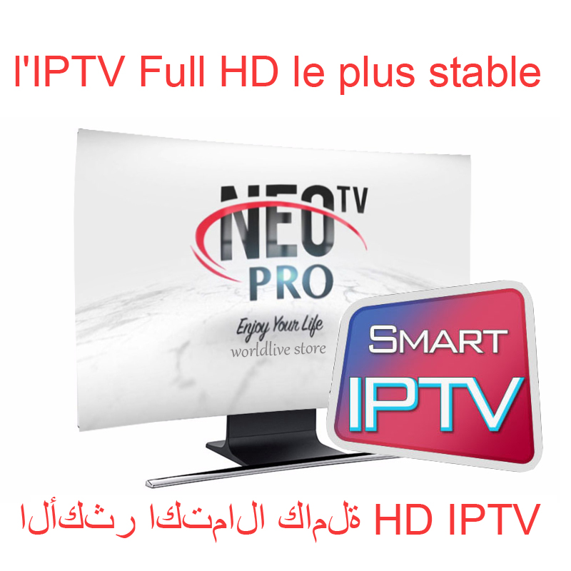 Neotv pro IPTV Subscription arabic europe french italian stream live tv code iptv 1800 channels and 2000 movies