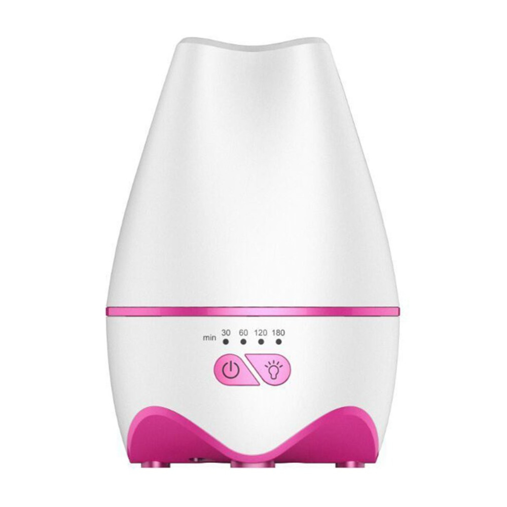 все цены на  Ultrasonic Air Humidifier Whisper-quiet Aroma Diffuser 120ml Tank Essential Oil Diffuser With 7 Colors LED Lights Night Light  онлайн