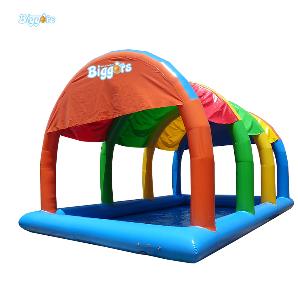 Yard Inflatable Biggors Inflatable Tent Pool For Promotion Colorful ...