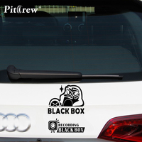 1PC 30*23cm New Style Car Styling Stickers BLACK BOX Car Stickers Vinyl Decal Personality Waterproof Car Exterior Accessories
