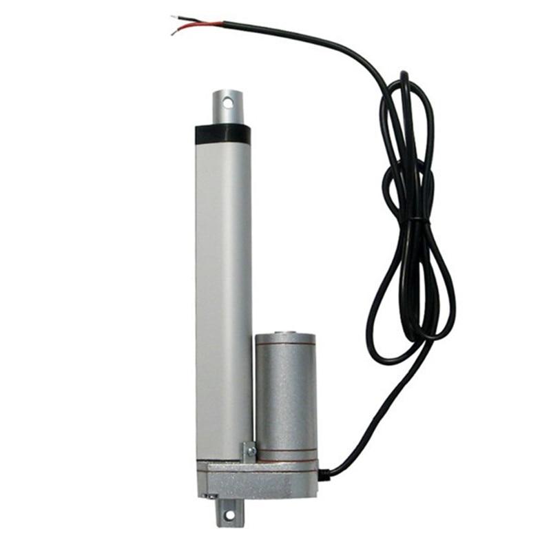 Multi function 200 250 300 450mm Stroke Mini Electric Actuator Linear Tubular Motor Motion 12V DC