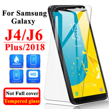 Protective Glass On The For Samsung Galaxy J6 Plus glass J4 Screen Protector plus trmpered Sansung Armor Galax 6J