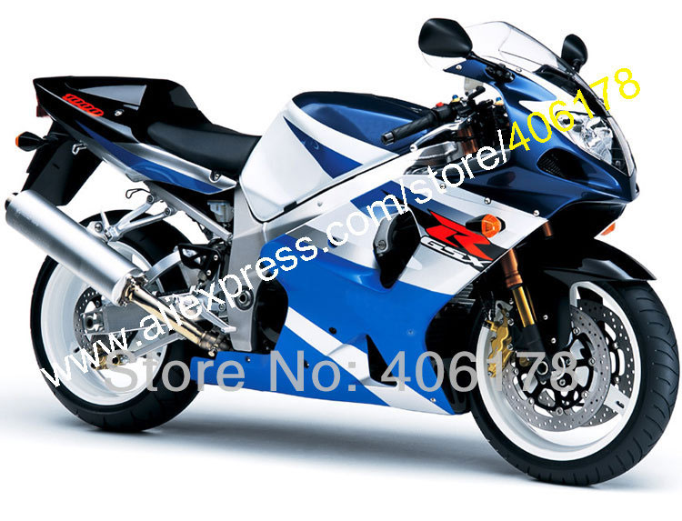 Fairing Kit for GSXR1000 2000 2001 <font><b>2002</b></font> K1 <font><b>GSXR</b></font> <font><b>1000</b></font> 00 01 02 GSX-R <font><b>1000</b></font> Blue Fairing Kits (Injection molding) image