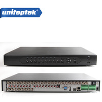 32CH 720P AHD DVR For 1 0MP Analog HD 720P AHD CCTV Camera Network IP Camara