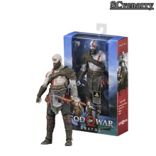 Deus da Guerra Kratos 4 Kratos NECA Figura PVC Action Figure Collectible Modelo Toy(China)