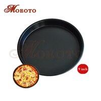 9 Inch Thicked 3 cm Deep Pizza Ronde Pan Aluminium Disc Pizza Stenen Keuken Thuis Bakken DIY Lade Pizza gereedschap