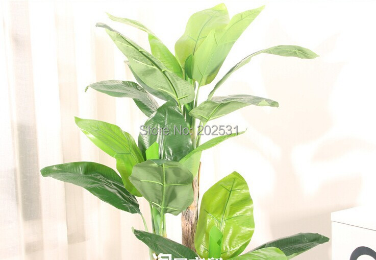 Artificial 150cm 3 Stems Banana Tree Artificial Real Touch Tree
