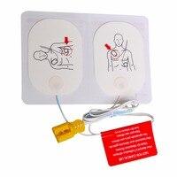 200 пар/упак. взрослых обучение Замена колодки AED Training модель Универсальный тренер с электродные накладки первой помощи выживания комплект
