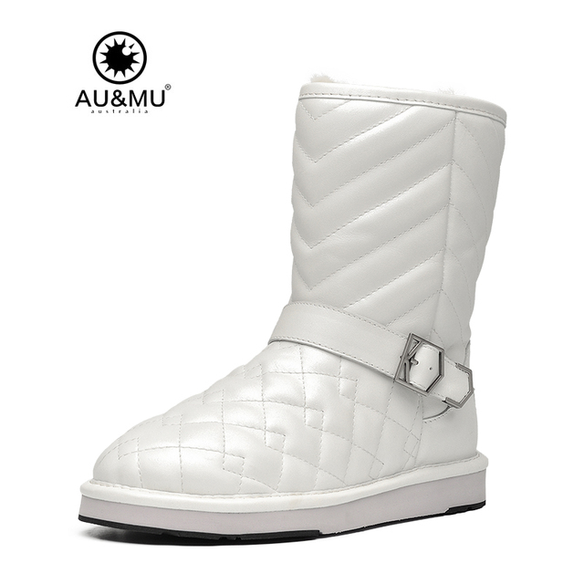 Buckle Strap Round Toe Snow Boots discount supply free shipping extremely cheap sale 100% original cheap price from china lhLUdYWWB5