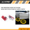 LED car Door Courtesy Ghost Shadow Logo Lights For Mercedes Benz E B C ML Class w212 S212 X166 w176 W205 W246 W242 C204