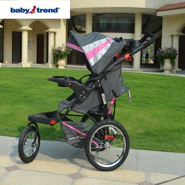 Babytrend Expedição LX Jogging Stroller-Gracie, 16 polegada rodas ar guarda-chuva do pram do bebê, JPMA Certificada