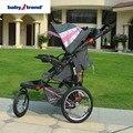 Babytrend Expedición LX Cochecito-Gracie, 16 pulgadas rueda de aire paraguas cochecito de bebé, JPMA Certificada