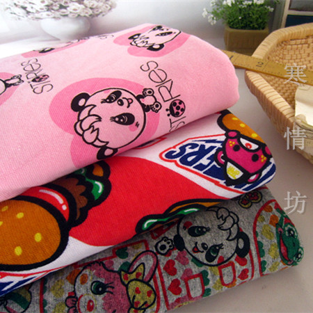 Japan marmelade GRAND BODEN panda gestrickte baumwolle stoff Zum ...