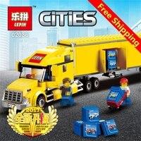 LegoINGLY New City Trucks 298 Pcs Mini Bricks Set Sale Truck Series Educational Building Blocks Toys