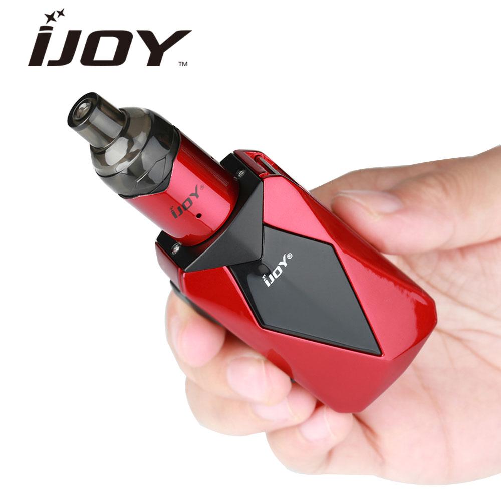 100% Kit Original de VPC de diamant d'ijoy w/1400 mAh diamant Bae mod/2 ml VPC Unipod réservoir Max 45 W E-Cigarette Kit de vapotage de diamant d'ijoy