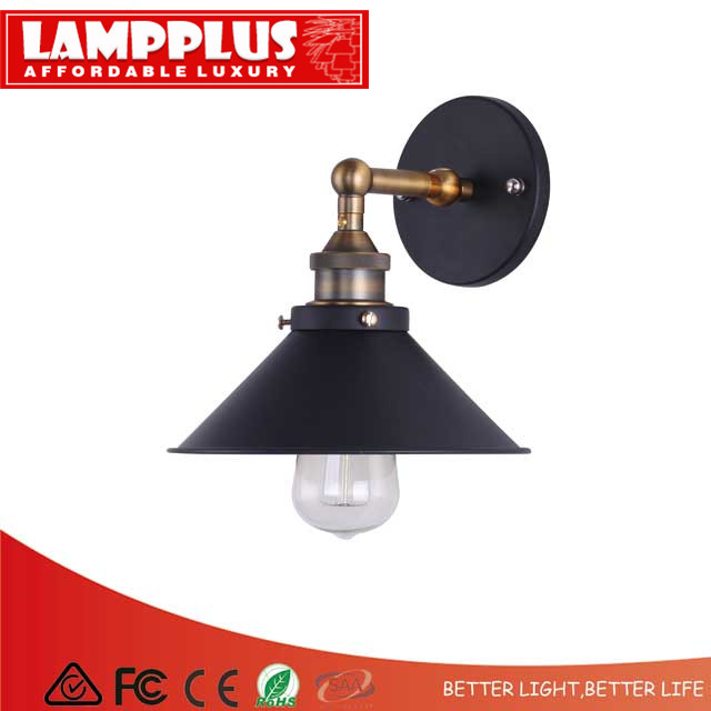 Lampplus Nordic Simple Vintage Loft Industrial Swing Arm Brass Black Wall lamp Wall light for bedroom living room study hotelLampplus Nordic Simple Vintage Loft Industrial Swing Arm Brass Black Wall lamp Wall light for bedroom living room study hotel