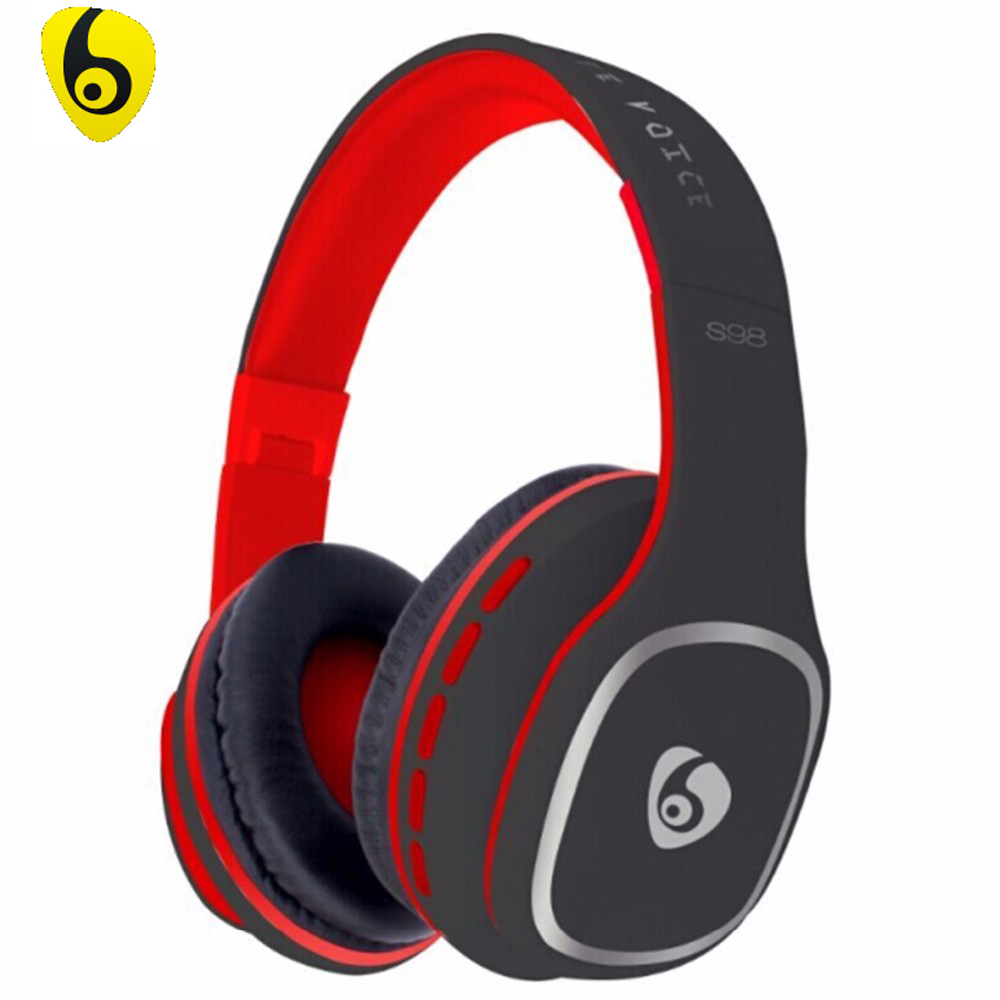 OVLENG S98 Bluetooth Headphones Wireless Stereo Noise Isolating Headset with Microphone Support FM Radio for iPhone 7 6s 6 Plus ovleng wireless bluetooth 4 0 headphones foldbale stereo headset with microphone ovleng v8 3 for phone handfree calls music