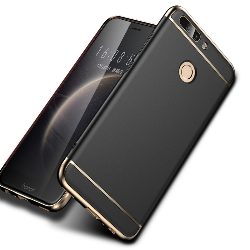 Case For Huawei Honor 8 luxury Hard PC 3 in 1 Back Cover Ful