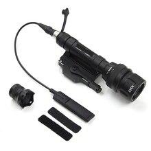 M620V тактический светодиодный Скаут света фонарик для оружия винтовка светодиодный налобный фонарь Airsoft Arma военные Softair пистолет лампа охотничий свет