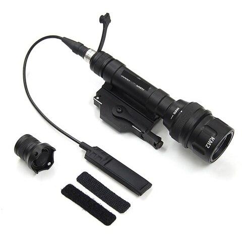 m620v tatico olheiro levou luz lanterna arma rifle softairo arma arma de airsoft militar caca