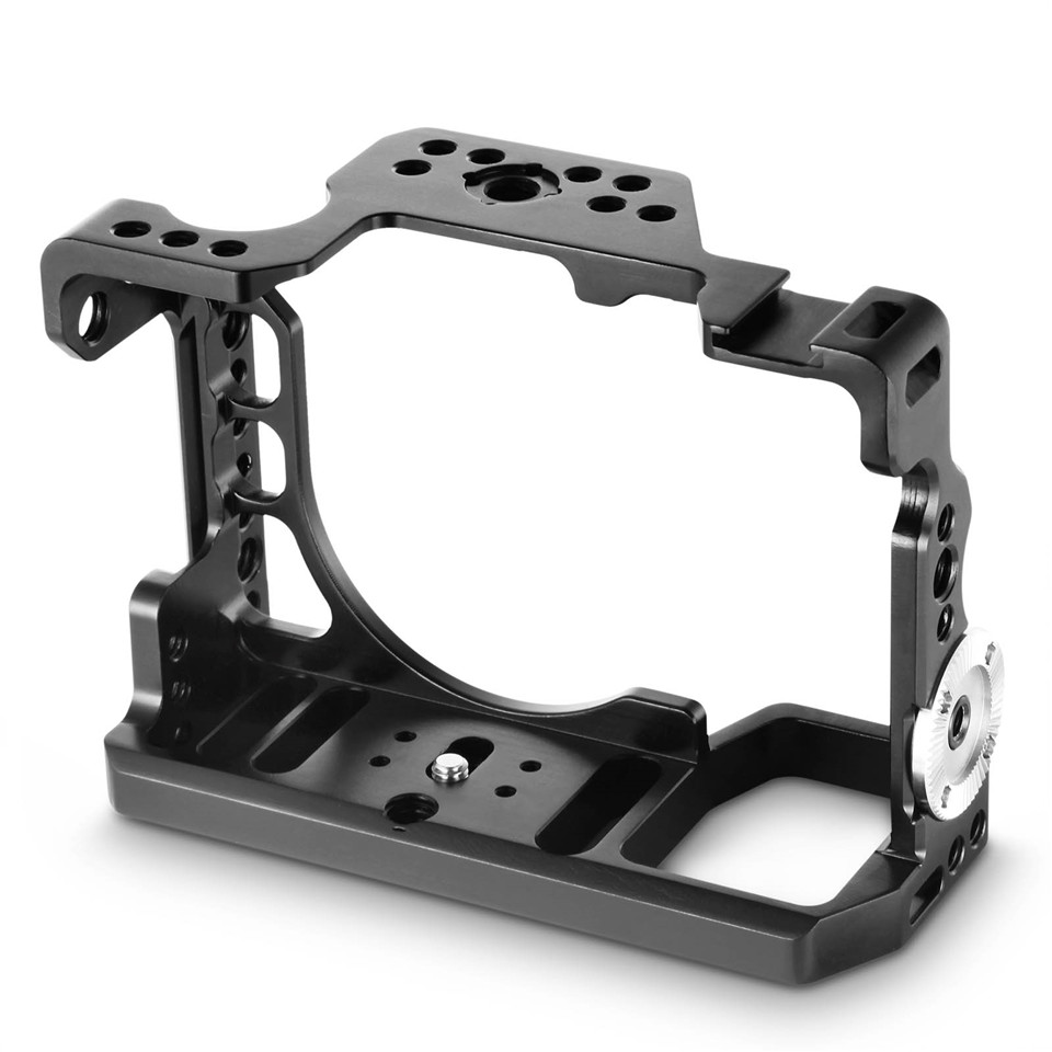Image 2 - SmallRig Camera Cage For Sony a9 With Nato Rail Cold Shoe Mount + Arri Rosette Rig Kit 2013-in Camera Cage from Consumer Electronics