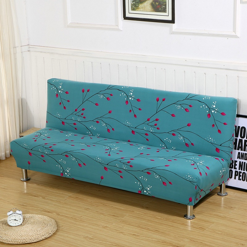 New Slipcover Stretch Sofa Cover Sofa With Loveseat Chair: New Floral Sofa Bed Cover Polyester Big Elastic Stretch
