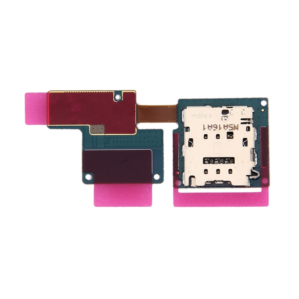 iPartsBuy SIM Card Reader Flex Cable for Galaxy Tab Pro S LTE / W707 / W700