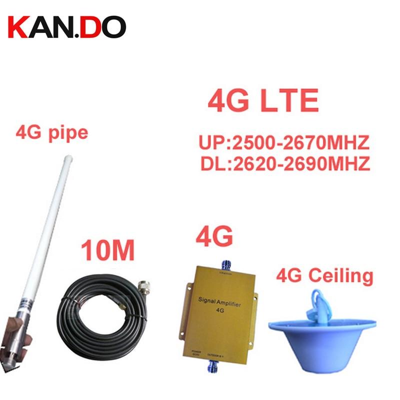 sáv 7 4G erősítő LTE 4G átjátszó / 10M kábel és antenna LTE - Mobiltelefon alkatrész és tartozékok