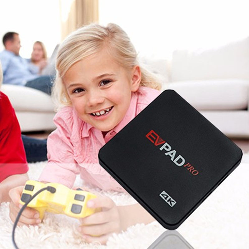 EVPAD Pro 1 GB/16 GB IPTV UBTV DESBLOQUEAR UBOX Inteligente Android TV Box BT 4.