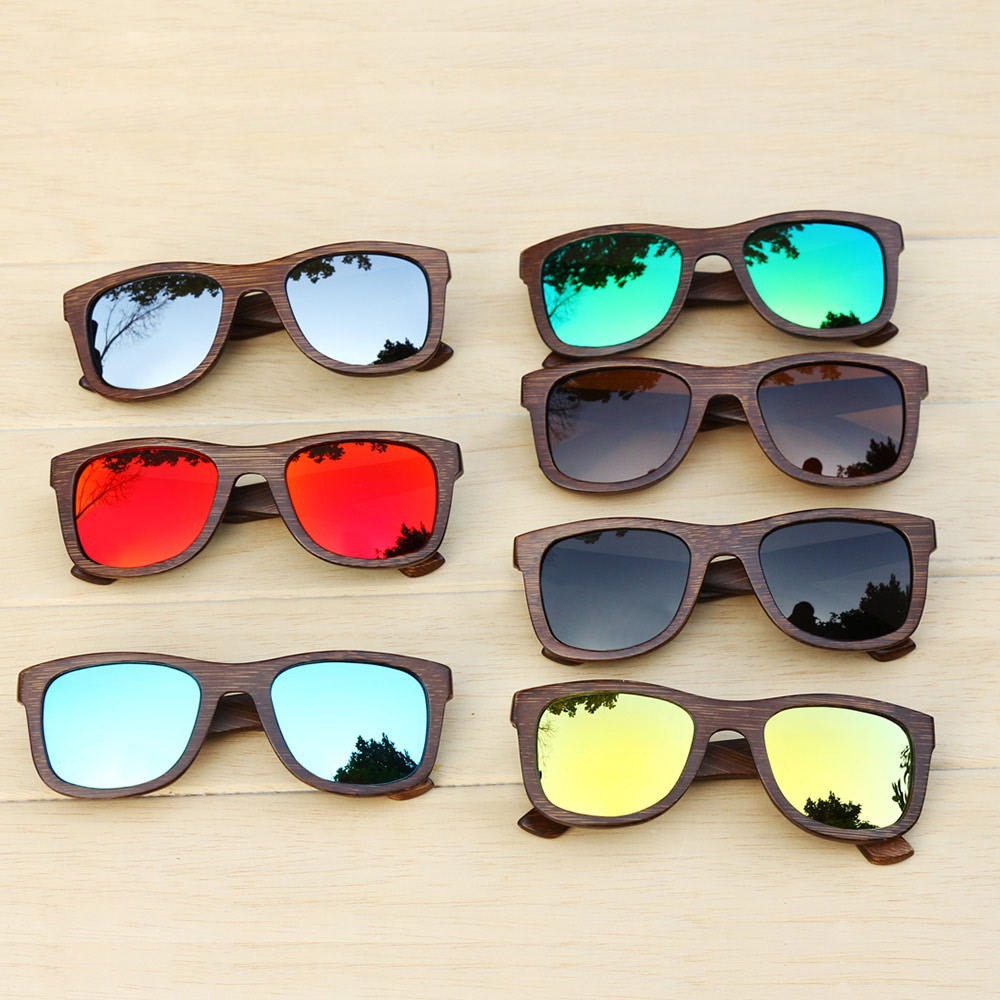 Image 4 - BerWer bamboo sunglasses 2019 fashion polarized sunglasses popular new design wooden sunglasses Frame Handmade-in Men's Sunglasses from Apparel Accessories on AliExpress