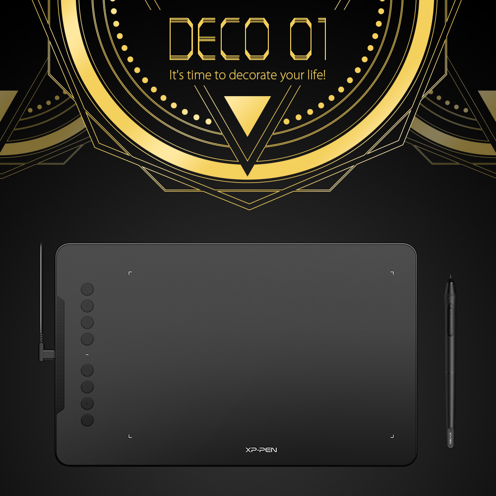 Drawing tablet XP-Pen Deco01 (1)
