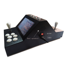 Mini arcade dual rocker face-to-face play the classic game, 9 inches of liquid crystal on table 1300 games