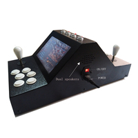 Mini arcade dual rocker face to face play the classic game, 9 inches of liquid crystal on the table 1299 games