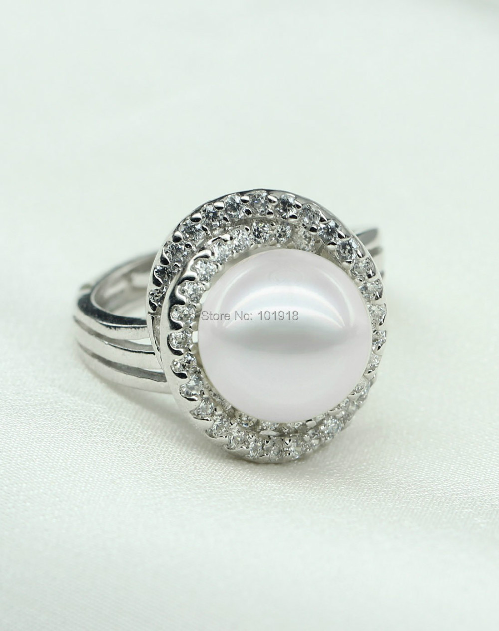 Aliexpress : Buy Snh Natural Freshwater Pearl Ring Design Real Genuine  Cultured Pearl Ring Jewelry 925 Sterling Silver Pearl Rings From Reliable  Ring