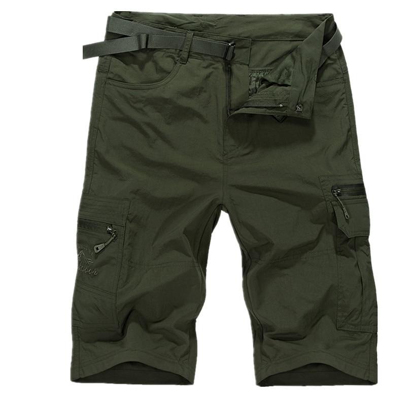 man shorts beach