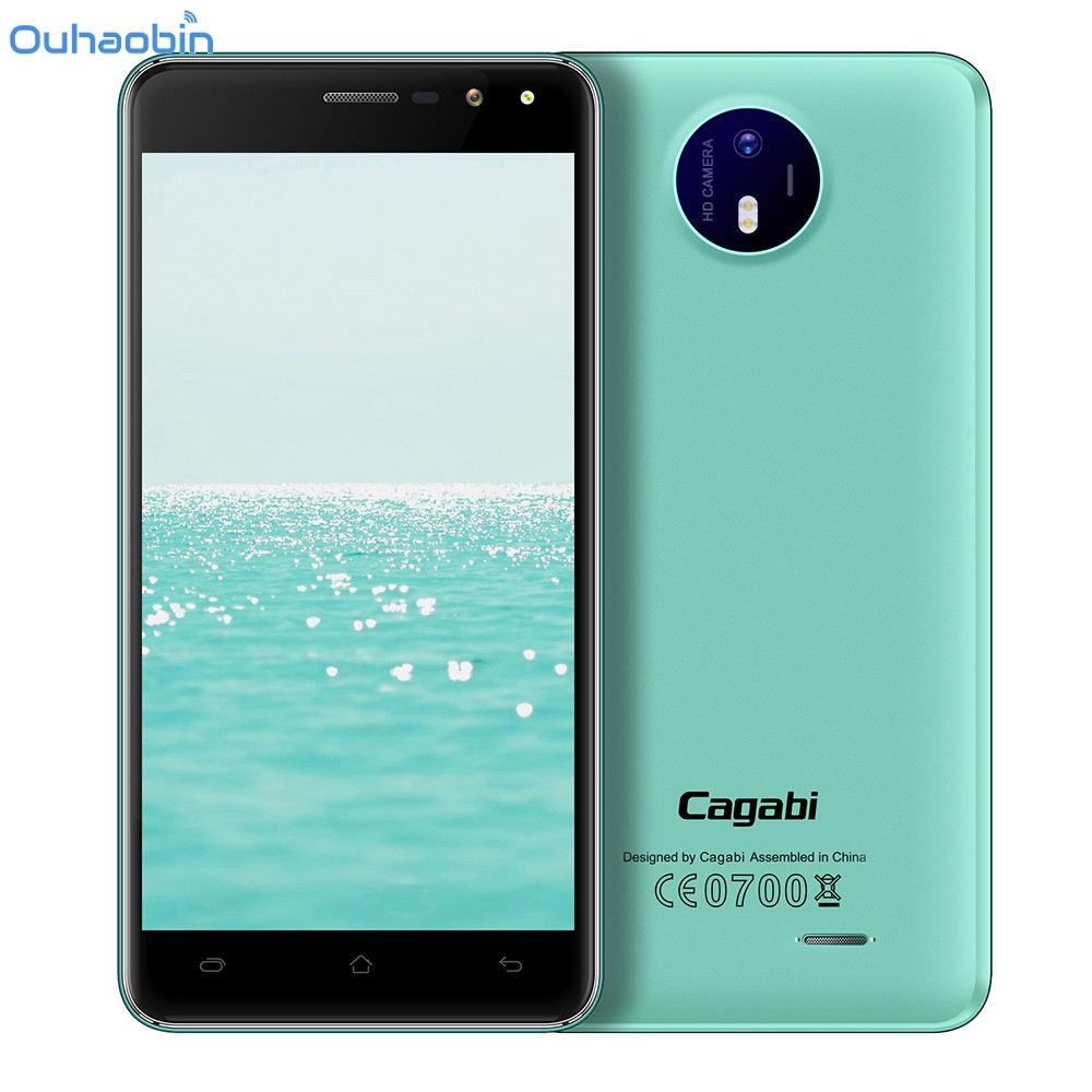 Ouhaobin 1+8G Vkworld Cagabi One 5.0 inch Smartphone 3G Android 6.0 Quad Core EU Plug Apr13 vkworld vk800x 5 0 inch 3g smartphone 1gb 8gb