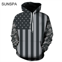 SUNSPA 3D Printing Sweatshirts Hooded Men Women Hoodies With Hat Galaxy Space Star Autumn Winter Loose