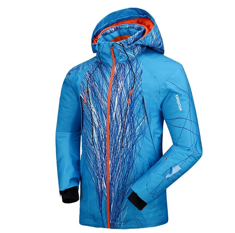 Pelliot marque hommes veste de ski témoin chaleur thermique snowboard veste respirante grande taille veste de sport pour camping neige - 5
