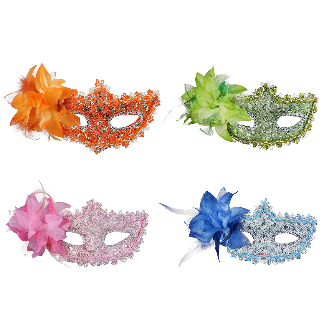 11 styles Party Masks Women Sexy Eye Masks Lace Venetian Mask Masquerade Carnival Masked Ball Fancy Dress Costume