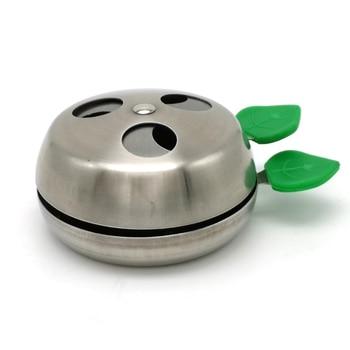 69a0f49eeb40 La manzana en Provost de calor Sistema de Gestión de kaloud lotus Hookah  Shisha carbón titular Chicha Nargile Accesorios