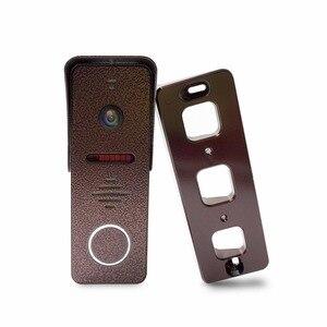 Image 5 - Dragonsview görüntülü interkom kapı telefonu sistemi 7 inç monitör kapı zili kamera ile hareket algılama geniş açı 130 derece kayıt