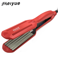 Temperature Control Corrugated Curling Hair Straightener Crimper Fluffy Small Waves Hair Curlers Curling Irons Styling Tools