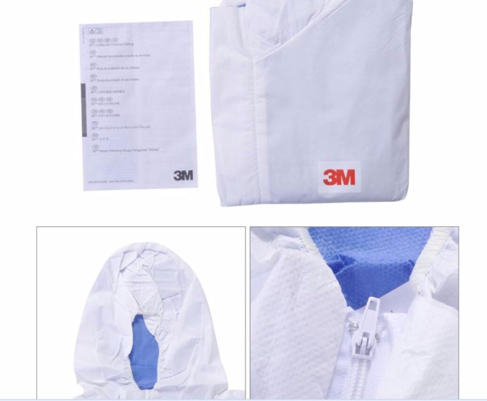 Mzyp 4535 cappuccio di un pezzo indumenti protettivi indietro usura traspirante confortevole predecessore particella 3 m