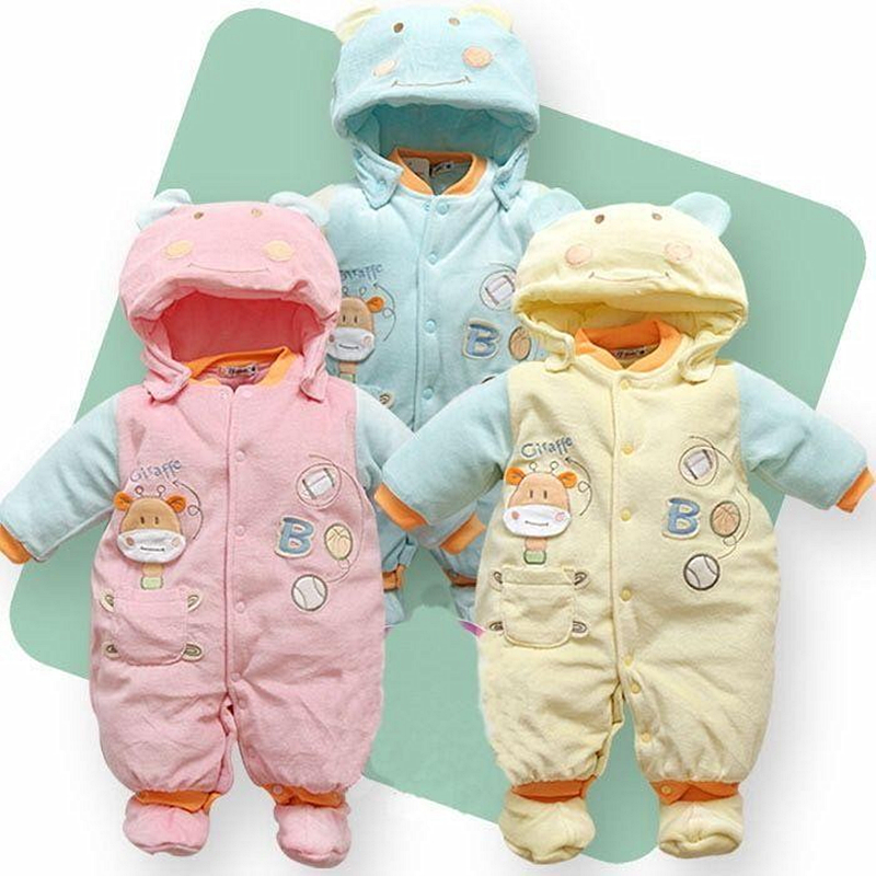 Anlencool 2018 Roupas Meninos Roupas Meninos Free Shipping Winter Products Infant Newborn Clothes Baby Siamese For Baby Clothing