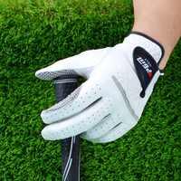 1 pièces gants de Golf pour hommes main droite gauche doux respirant peau de mouton Pure avec granulés antidérapants gants de Golf pour hommes