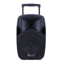 Портативный Bluetooth динамик квадратная танцевальная тележка звук 10 дюймов открытый динамик продажа звонков карта Bluetooth радио динамик