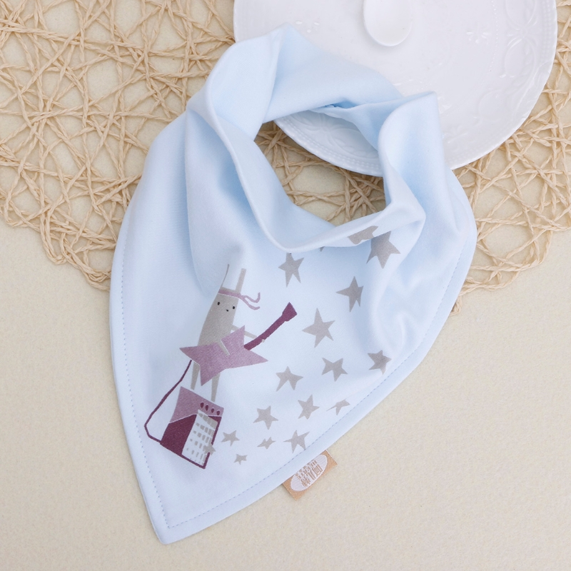 Hot Sale Baby Saliva Napkin Infant Triangle Head scarf Bandana Bibs Feeding Cloth Saliva Towel Burp Bibs-M20