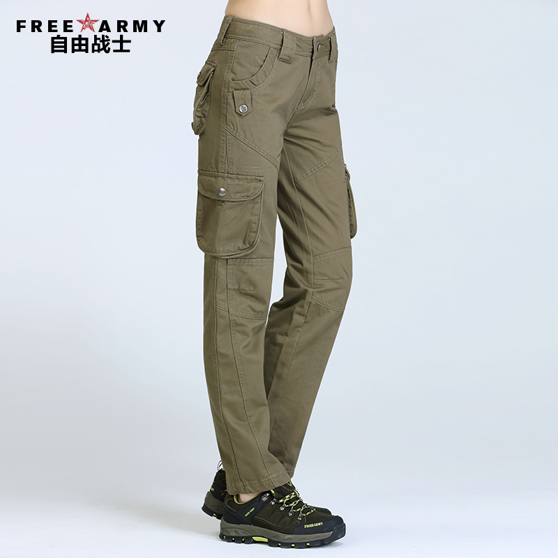 Popular Khaki Cargo Pants Women-Buy Cheap Khaki Cargo Pants Women ...