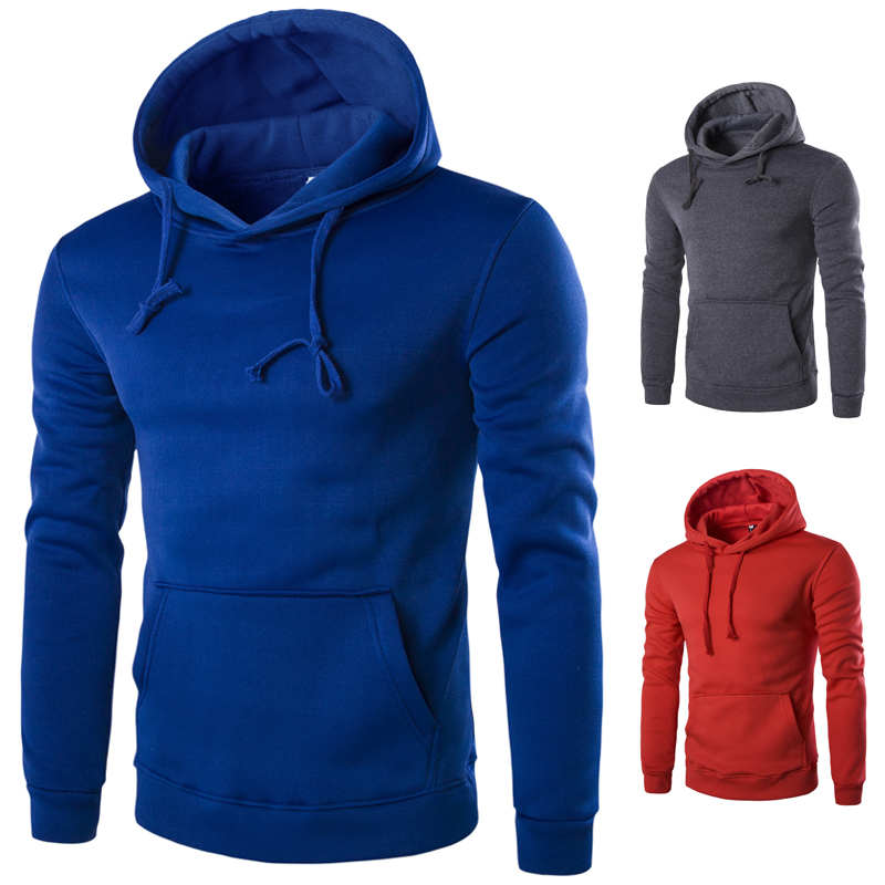 Men's casual autumn hooded 1